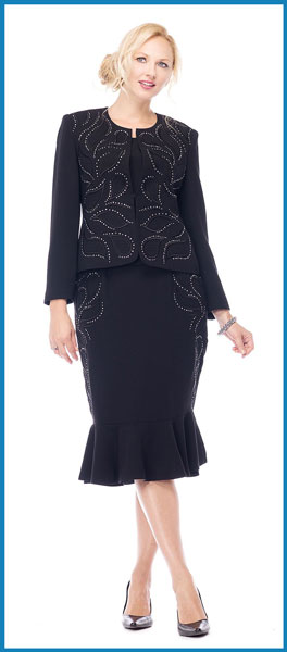 Black dress outfits for fall 8 pc